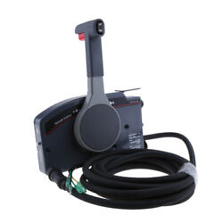 Boat Marine Outboard Remote Control Box For Yamaha Push Throttle 10pin Cable