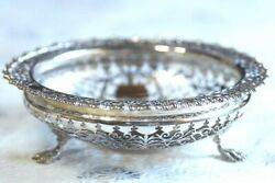 1910 Made Of Sterling Silver Great Watermark Sweet Compote F112