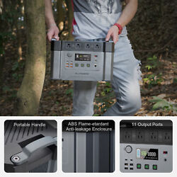 2000w Solar Inverter Generator Ruggedised Power Station For Camping Hunting Us