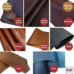 Tooling Leather Square 5/6 Oz 2mm Pre-cut 6 To 48 Thick Full Grain...