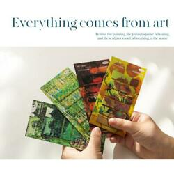 Stationery Sticky Note Painting Series Label Decorative Hand Account Decor