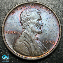 1909 P Lincoln Cent Wheat Penny -- Make Us An Offer P2013