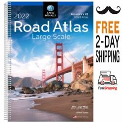 Rand Mcnally Usa Road Atlas 2022 Best Large Scale Travel Maps Road Atlas Usa