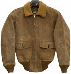 Rrl Rrl 150th In The World Limit Goat Suede Razor Jacket Mens Limited No.1343