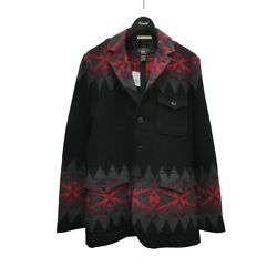 Previously Owned Rrl Limited Edition Native Patterned Jacket Black No.1257