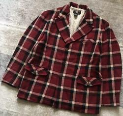 Early Masterpieces Threestar Tag 90and039s Rrl Western Tone Plaid Jacket No.2335