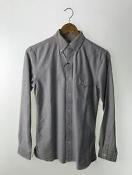 Previously Owned Rrl Buttondown Longsleeved Shirt Xs Cotton Tagged No.2804