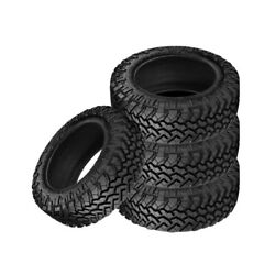 4 X New Nitto Trail Grappler M/t 295/70/17 121/118p Off-road Traction Tire