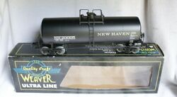 ✅weaver 3-rail New Haven 40' Tank Car W/ Lionel Type Couplers O Scale Freight