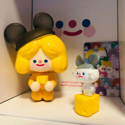 F.un X Rico And House Mouse Zzik Orange Mini Figure Art Toy Limited Collectable