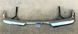 Used Oem ... And03965 - And03973 Volvo P1800 Chrome Rear Bumper Assembly K193