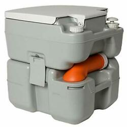 ✮advanced Portable Toilet For Travel And Camping, With Level Indicator 20 L