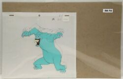 Ghostbusters Original Production Drawing And Cel 58-70 Used Cond.