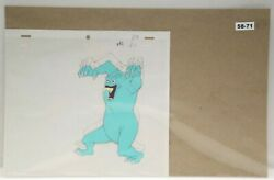 Ghostbusters Original Production Drawing And Cel 58-71 Used Cond.