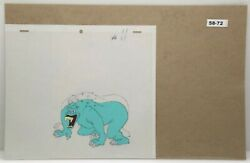 Ghostbusters Original Production Drawing And Cel 58-72 Used Cond.