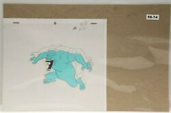 Ghostbusters Original Production Drawing And Cel 58-74 Used Cond.