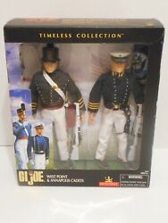 G I Joe 12 West Point And Annapolis Cadets Nrfb- Timeless Collection