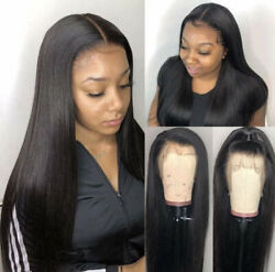Wigs For Women Human Hair Lace Front Black