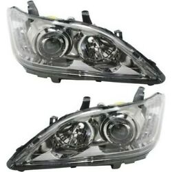8114533750, 8118533750 New Driver And Passenger Side Hid/xenon Lh Rh For Es350