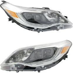 Headlight Set For 2013 2014 2015 Toyota Avalon Left And Right Hid 2pc