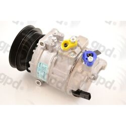 6512321 Gpd New A/c Ac Compressor For Vw With Clutch Volkswagen Beetle Jetta Gti