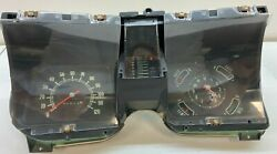 1968 Chevelle Gauge Cluster Assembly With Tachometer Gauges Clock Speedometer