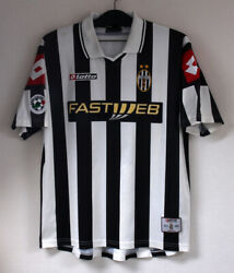 2001-02 Juventus Home S/s No.10 Del Piero Player Issue Serie A 01-02jersey Shirt