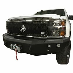 For Chevy Silverado 3500 Hd 15-18 1-pc Lime Green Mesh Main Grille