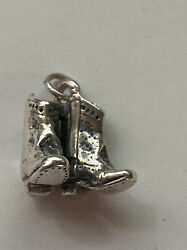 James Avery Sterling Silver Cowboy Boots Charm