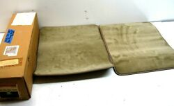 Nos Gm 12342900 Beige Light Brown Carpeted Carpet Floor Mats 1970and039s 1980and039s