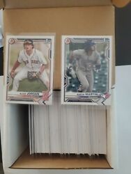 2021 Bowman Paper Base And Prospects Complete Set Bp1-150 1-100 250 Total Qty