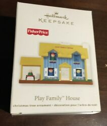 2011 Hallmark Fisher Price Play Family House Ornament