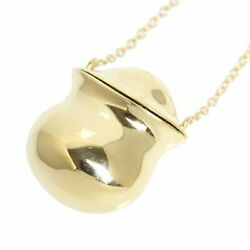 Authentic And Co. Bottle Pendant K18 Yellow Gold No.8857