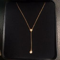 End Of Production And Co. By The Yard Diamond Necklace Swaying No.7503