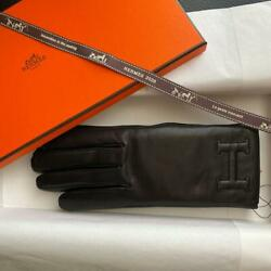 Authentic Hermes Glove Bastille Free Shipping No.6425