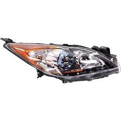 Headlight For 2012-2013 Mazda 3 Hatchback Or Sedan Right With Bulb