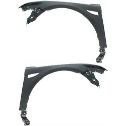 Fender For 2010-2015 Ford Taurus Set Of 2 Front Left And Right Primed Steel Capa