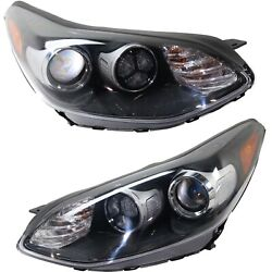 Headlight For 2017-2019 Kia Sportage Driver And Passenger Side