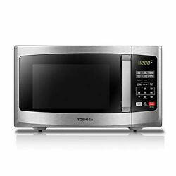 Toshiba Em925a5a-ss Microwave Oven With Sound On/off Eco Mode And Led Lightin...
