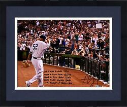 Frmd Cc Sabathia Yankees Signed 16 X 20 Dugout Photo And Strikeout Inscs - Le 52