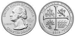 One 2019 West Point San Antonio Missions America The Beautiful Quarter