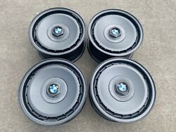 Bmw Style 3 Forged Wheels Restored In Charcoal Silver 15x7 5x120 E32 E34 E30 M3