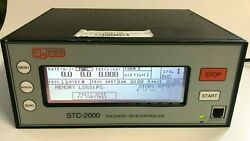 Sycon Instruments Stc-2000 V55ad Thickness Rate Monitor Controller