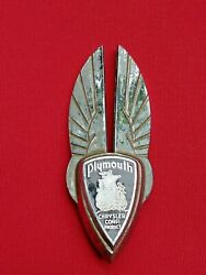 1937 Winged Plymouth Chrysler Hood Ornament