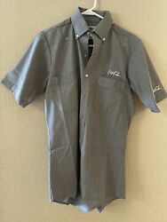 Riverside Coca Cola Button Up Shirt Size-small