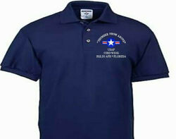 53rd Wing Eglin Afb Florida Usaf Embroidered Polo Shirt/sweat/jacket.