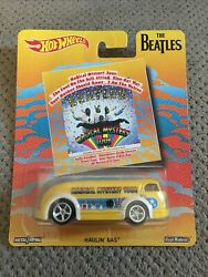 Hot Wheels Pop Culture The Beatles Magical Mystery Tour Haulinand039 Gas Real/riders