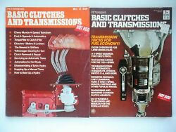Petersen#x27;s Basic Clutches and Transmissions 2 Book Lot 1971 amp; 1974 Editions $11.99