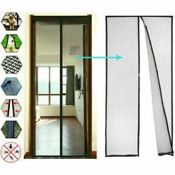 Anti Insect Net Magnetic Door Mosquito Mesh Curtain Screen Bug Fly Curtains Bugs