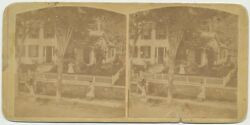 New York Sv - Little Falls Home - 1860s Early